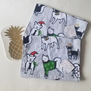 NWT B2G1 HOLIDAY DOG TIP TOWELS